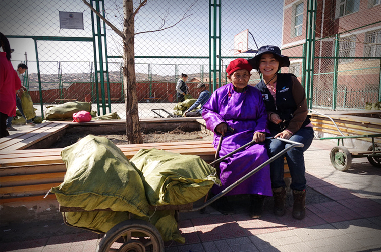 Warm winter to Mongolians
